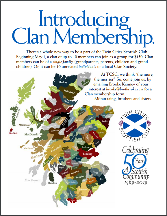 introducing clan membership: contact brooke@brotheroke.com for details.